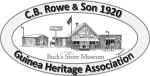 CB Rowe & Son 1920 Guinea Heritage Association Bucks Store Museum
